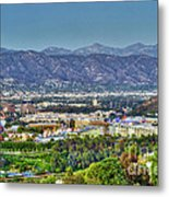 Universal City Warner Bros. Studios Clear Clear Day Metal Print