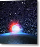 Universe In The Kitchen Metal Print