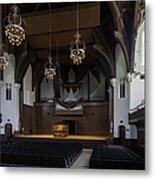 University Auditorium And The Anderson Memorial Organ Metal Print