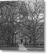 University Hall And Pathway Osu Metal Print