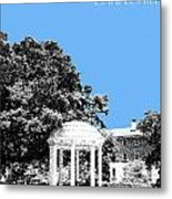 University North Carolina Chapel Hill - Light Blue Metal Print