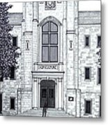 University Of Arkansas Metal Print by Frederic Kohli