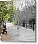 University Of Pennsylvania Walk Metal Print