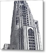 University Of Pittsburgh Metal Print