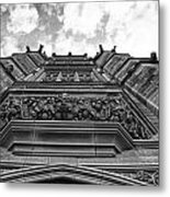 University Of Sydney-black And White Metal Print