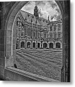 University Of Sydney-black And White V3 Metal Print