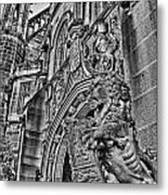 University Of Sydney-black And White V5 Metal Print