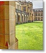 University Of Sydney Quadrangle V2 Metal Print