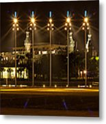 University Of Tampa At Night Metal Print