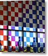 University Of Tampa Through A Rainbow By Sharon Cummings Metal Print