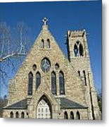 University Of Virginia Chapel Metal Print