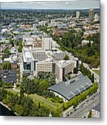 University Of Washington Medical Metal Print
