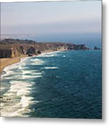 Unknown Beach Off Hwy 1 Metal Print