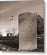Unknown Soldier Metal Print by Steven  Michael