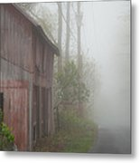 Unknown Where The Road Will Take You Metal Print