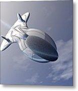 Unmanned Spaceship Metal Print