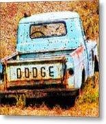 Unsuccessful Dodge Metal Print