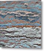 Untamed Sea 1 Metal Print by Carol Cavalaris