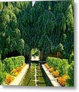 Untermyer Gardens And Park Metal Print