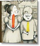 New Yorker May 27th, 2013 Metal Print by Ana Juan