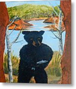 Untitled Bear Metal Print