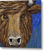 Untitled Buffalo 1 Metal Print