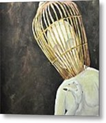 Untitled For The World To Figure Out Metal Print by Stefanie M Valverde