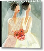 June Brides Metal Print