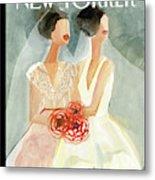 June Brides Metal Print