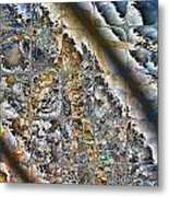 Pond Abstract Metal Print