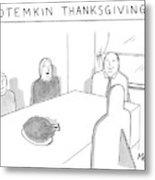 New Yorker November 27th, 2006 Metal Print