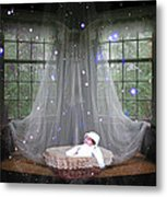 Unto Us A Child Is Born Metal Print