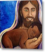 Unto You A Godly Son Is Given Metal Print