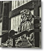 Unusual Statue 2 Metal Print