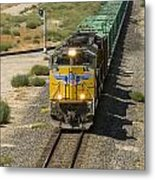 Up 8587 Southbound From Tipton Metal Print