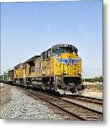 Up 8587 Southbound From Traver Metal Print