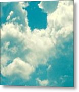 The Kiss Of The Clouds Metal Print