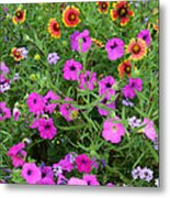 Up Close In The Garden I Metal Print