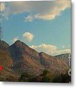 Up Close Mountains Metal Print