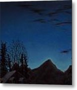 Up Early Metal Print