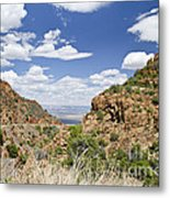 Up From Jerome Arizona Metal Print