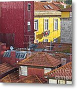 Up On The Roof Metal Print