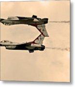 up side down Thunderbird's  Metal Print