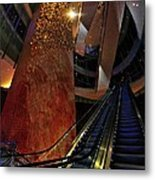 Up The Down Escalator Metal Print