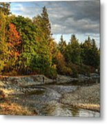 Up The River Metal Print