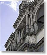 Up To The Left Metal Print