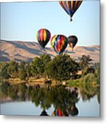Up Up And Away Metal Print by Carol Groenen