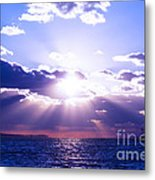 Uplifted Metal Print