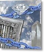 Upon First Encountering The View Metal Print