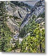 Upper Bear River Valley Metal Print